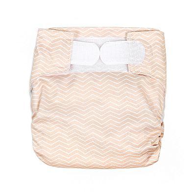 Многоразовый подгузник для новорожденных GlorYes! Я у мамы персик all-in-one