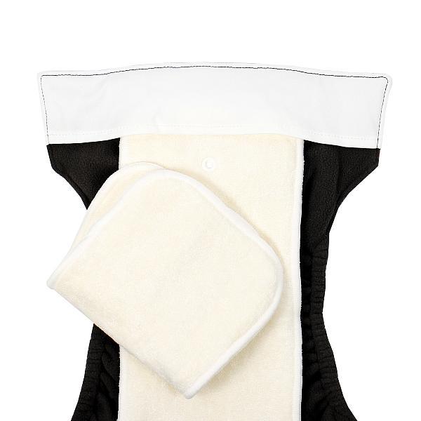Многоразовый подгузник GlorYes! PREMIUM Молочный 3-18 кг + два вкладыша от GlorYes!
