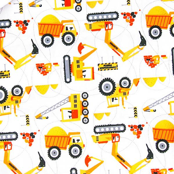 Многоразовый подгузник GlorYes! PREMIUM Тракторы 3-18 кг + два вкладыша от GlorYes!