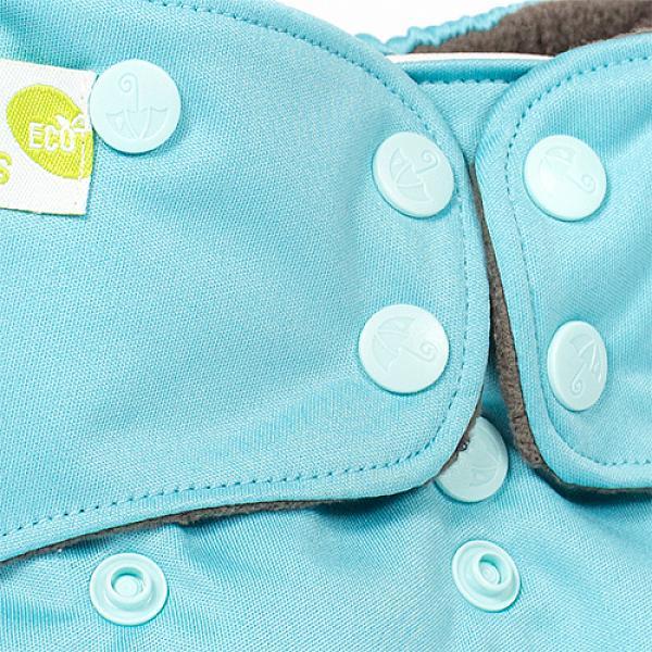 Купить Многоразовый подгузник GlorYes! PREMIUM Голубой 3-18 кг + два вкладыша