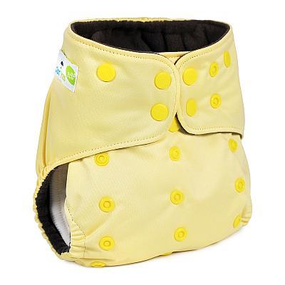 Многоразовый подгузник GlorYes! PREMIUM Нежно-желтый 3-18 кг + два вкладыша