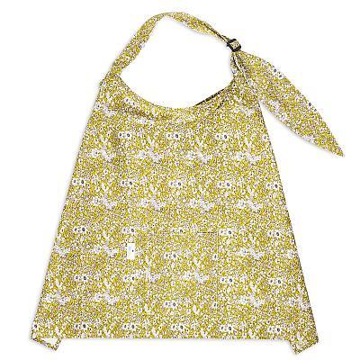 Накидка для кормления GlorYes! Ромашки с карманом и платочком