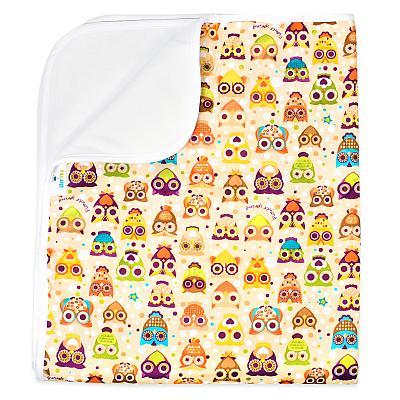 Многоразовая пеленка для собак GlorYes! DryPet Совы 80х68