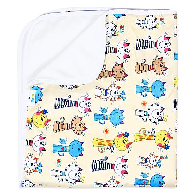 Многоразовая пеленка для собак GlorYes! DryPet Коты 80х68