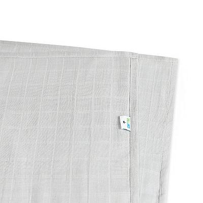 Муслиновая пеленка GlorYes! Серая 95х73 см