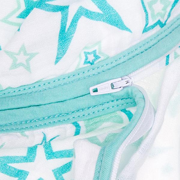 Спальный мешок GlorYes! (3-9 мес.) 2 в 1 Голубые звезды от GlorYes!