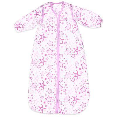 Спальный мешок GlorYes! (9 мес.-2,5 г.) Розовые звезды