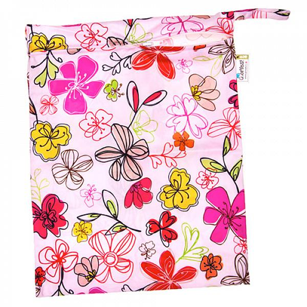 Непромокаемая сумка GlorYes! Цветы нагрудник gloryes цветы