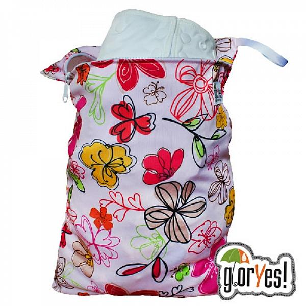 Непромокаемая сумка GlorYes! Цветы
