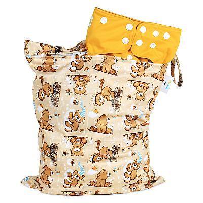 Непромокаемая сумка GlorYes! Медвежонок