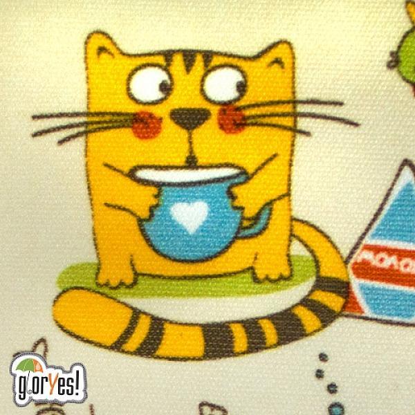 Непромокаемая сумка GlorYes! Котята