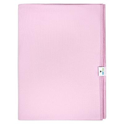 Трикотажная пеленка GlorYes! Розовый бутон 120х90 см