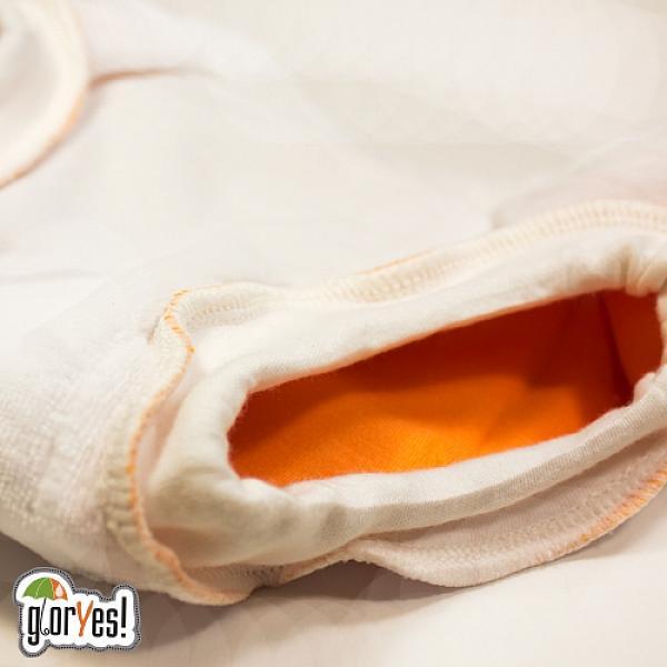 Хлопковые трусики для приучения к горшку GlorYes! L Апельсин 14-20 кг от GlorYes!